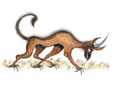 Ion vincent DAnu - Heraldic Fantasy Creature