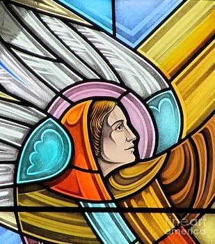 Heralding Angel by Gilroy Stained Glass