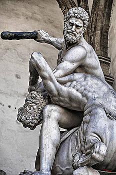 Hercules killing the centaur by SM Shahrokni
