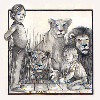 Here There Be Lions by Mario Macari