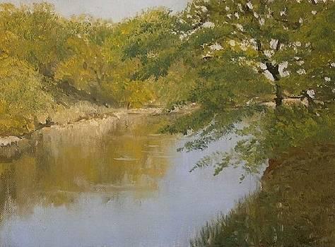 Here we fished in childhood by Yaroslav Kuvshinov