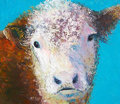 Jan Matson - Hereford Cow named Grace