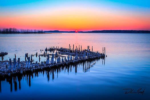 William Reek - Heritage Pilings Sunset