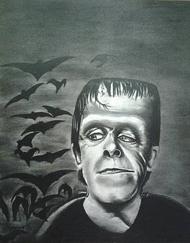 Herman Munster by Ronnie Cantoro