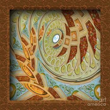 Liane Wright - Hermitage Abstract Swirl