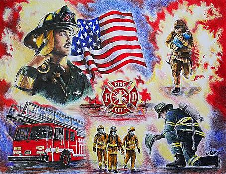 Heroes collection American Firefighter by Andrew Read