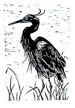 Heron by David Olson