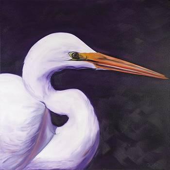 Heron by Pamela Bell
