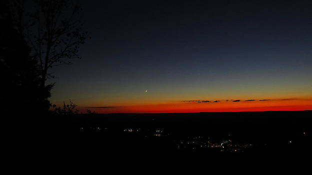 Heublein Sunset 2  by Stephen Melcher