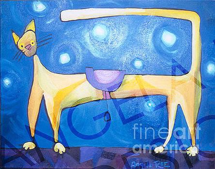 Hi Ho Kitty Cat by Angela Rae