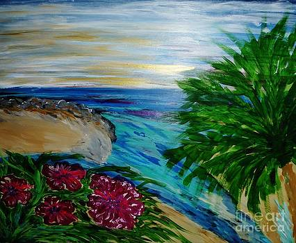 Hibiscus on the Water by Marie Bulger