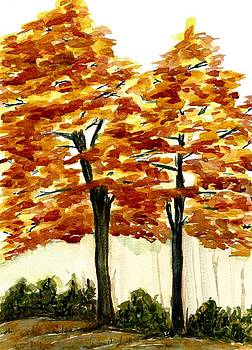 Hickory Autumn by Garima Srivastava
