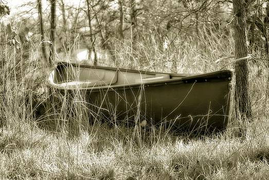 Hidden Boat by Kathy Williams-Walkup