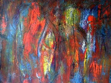 Hidden by Tanya Lozano Abstract Expressionism