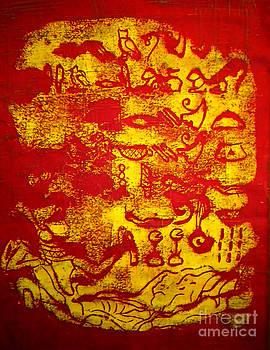 Hieroglyphic by Simonne Mina