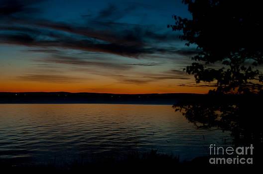 Higgins Lake Sunset by Jennifer Englehardt
