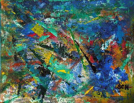 Higgs Field Activity -OR- Paint by Scott Haley