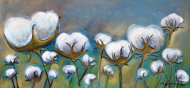 High Cotton in Blues by Nancy Hilliard Joyce