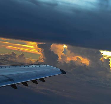 High In The Clouds II by Wanda J King