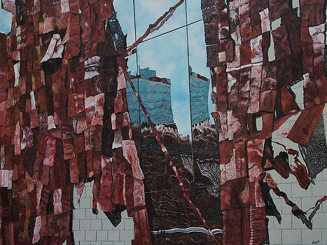 High Line Reflection 3 by Steven Fleit