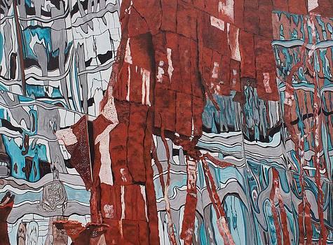 High Line Reflection 4 by Steven Fleit