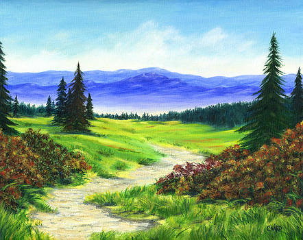 High Mountain Meadow by Colleen Ward