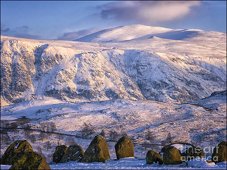 High Rigg from Castlerigg Stone Circle by George Hodlin
