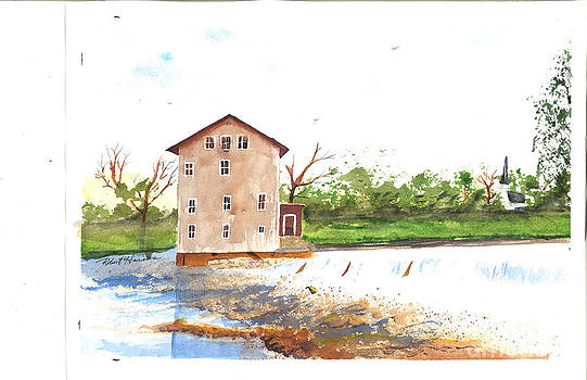 High Shoals Mill by Robert  ARTSYBOB Havens