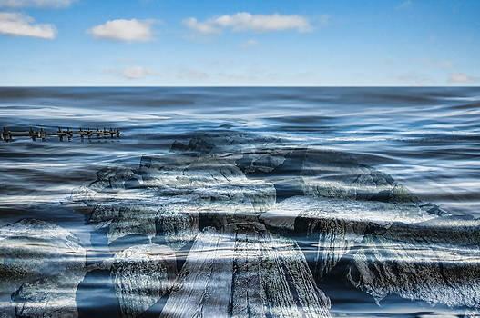 High Tide Cape May by Alina Marin-Bliach