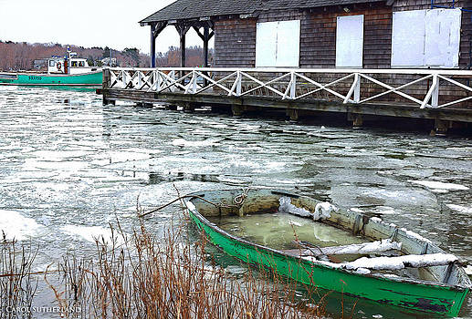 High Tide in Cohasset I by Carol Sutherland