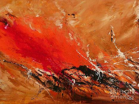 High Time - Abstract Art by Ismeta Gruenwald