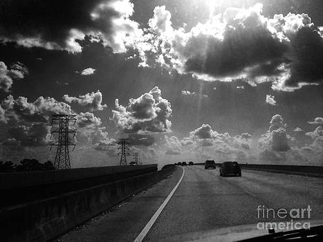 Highway clouds by WaLdEmAr BoRrErO