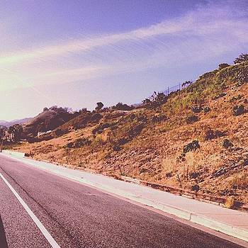 California Highway by Melissa DuBow
