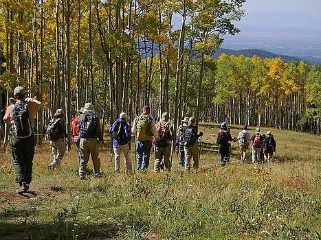 Hike In New Mexico by Daria Yesieva-Kartsinski
