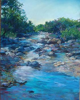 Hill Country Stream by Karen Vernon