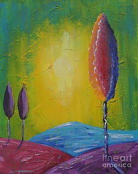 Hill Top Tree by Susan Wahlfeldt