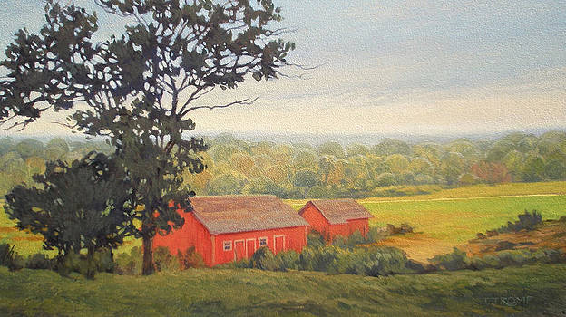 Hill With A View by Teresa Tromp