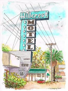 Hillcrest Motel in Route 66 - Andy Devine Ave in Kingman - Arizona by Carlos G Groppa