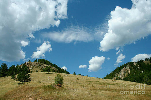 Hills and Clouds by Denise Lilly