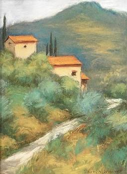 Hills of Italy by Sharon Weaver