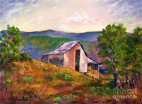 Hillside Barn by Bruce Schrader