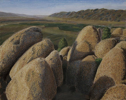 Hilltop Boulders by Todd Swart