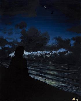 Hilton Head Silhouette by Davend Dominick