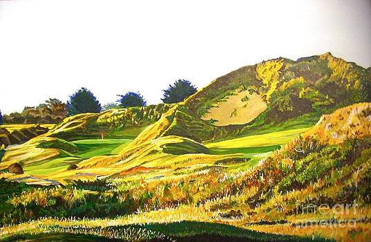 Himalayas hole at St Enodoc by Frank Giordano