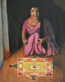 Suzanne  Marie Leclair - Hindu Celebration