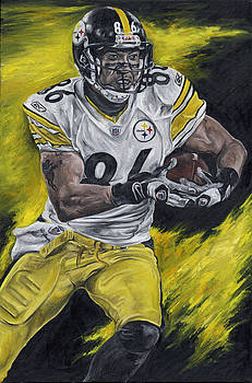 Hines Ward by David Courson