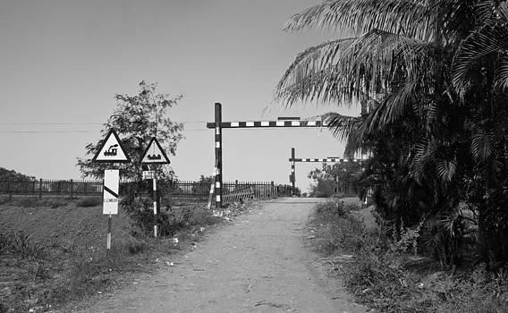 Kantilal Patel - Hinterland railway crossing