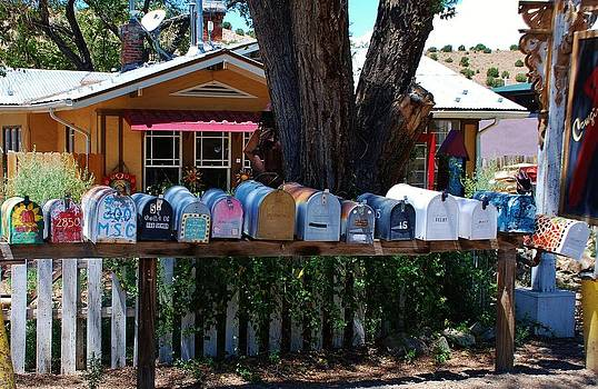 Hippies mailboxes by Dany Lison
