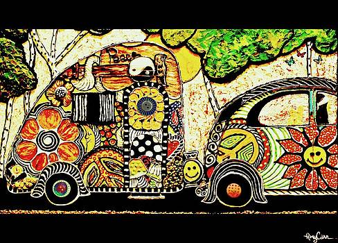 Hippy Campers by Amy Carruth-Drum