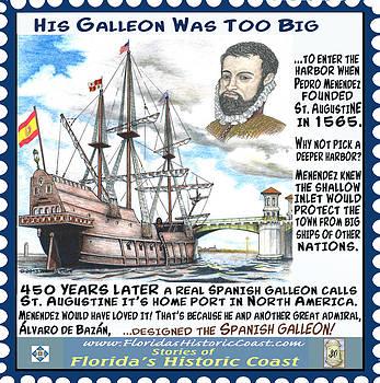 His Galleon Was Too Big by Warren Clark